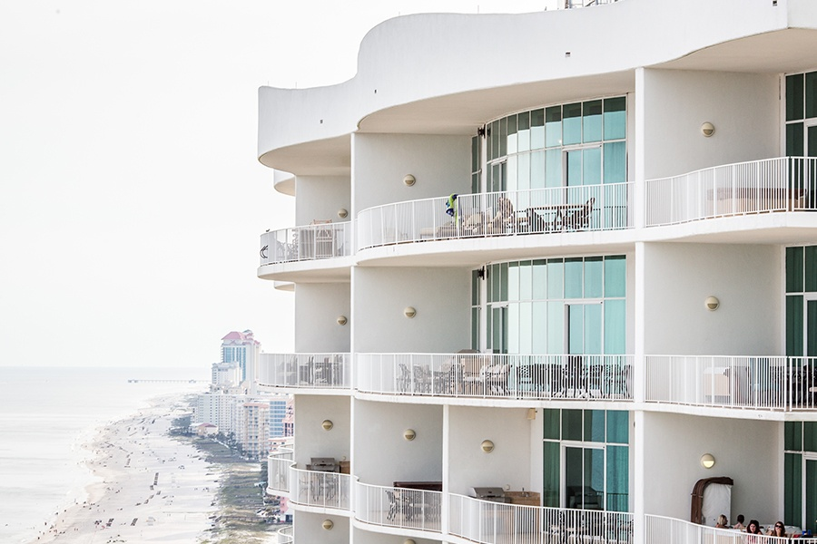 Specialized Business Insurance - Views from Norfolk Virginia Condominium Beachfront Properties on a Sunny Day